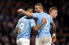 Manchester City pair Jesus and Walker test positive for Covid