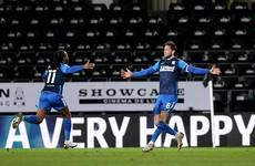Irish international Alan Browne strikes late to end Rooney's unbeaten start with Derby