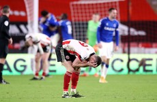 Everton into 2nd as Blades become first top-flight team in 118 years to be winless after 26 December
