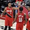 McCollum lifts Trail Blazers to OT win over Rockets, Cavs edge Pistons