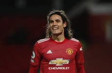 'He's got a few years left in him' - Solskjaer hints at keeping Cavani at Man Utd