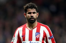 Diego Costa's contract at Atletico Madrid terminated for personal reasons