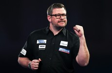 James Wade lands nine-dart finish before crashing out of World Championships