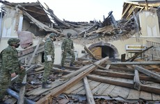 Six people killed and 20 others injured as strong earthquake hits central Croatia