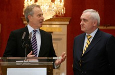 Early Blair-Ahern meeting gave rise to potential for peace in Northern Ireland, documents show