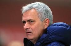 Jose Mourinho unhappy with 'unprofessional' Tottenham-Fulham postponement