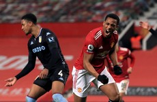 Manchester United draw level with Liverpool at Premier League summit