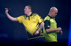Van Gerwen stunned by Chisnall as Gurney also crashes out at Ally Pally