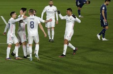 Real temporarily take over La Liga top spot