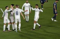 Real temporarily take over La Liga top spot