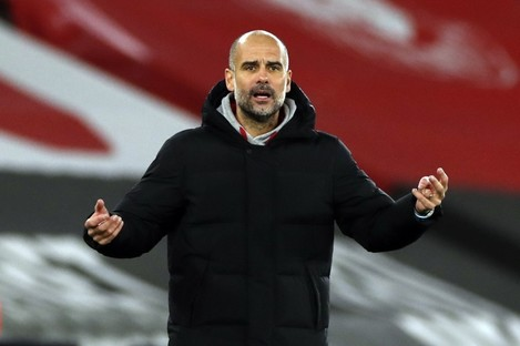 Nearly 50, not out: Manchester City manager Pep Guardiola.