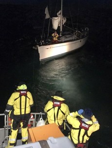 RNLI rescues three people after 50-foot yacht loses power off west Cork coast