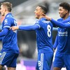 Two second-half goals send Leicester up to third place as unbeaten run continues