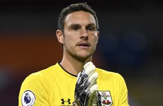 Positive Covid-19 test rules Southampton goalkeeper out of Liverpool game