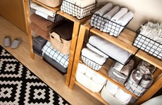 Banish those boxes: How to get your home organised from the start