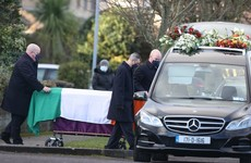 Funeral of former Real IRA leader Michael McKevitt takes place