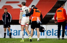 Ulster assessing Stockdale injury as lengthy lay-off is confirmed for Reidy