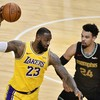 LeBron and Davis combine for late run of 15 points as Lakers edge out Grizzlies