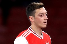 Arsenal outcast Ozil close to joining Fenerbahce on three-and-a-half year deal - reports