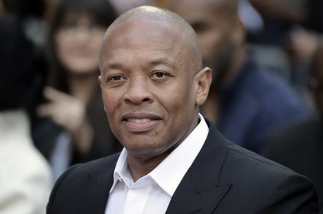 Dr. Dre on the red carpet in LA in 2018.