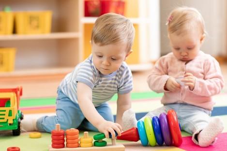 File photo of children at nursery.