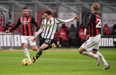 Pirlo's Juventus end 27-match unbeaten run of Serie A leaders AC Milan