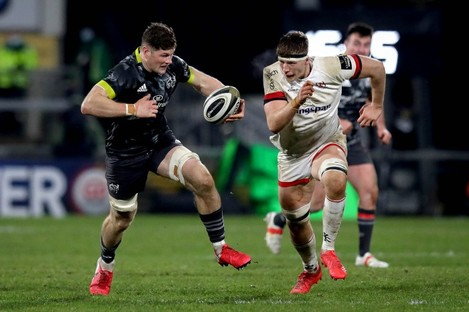 Rea, right, and Ulster have won 10 out of 10 in the Pro14 so far this season.