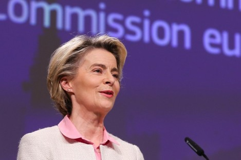 Ursula von der Leyen made the announcement today.