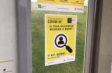Debunked: No, this poster is not from the HSE telling people to report neighbours who do not wear a mask