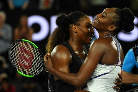 Serena Williams benefited from being Venus' younger sibling.