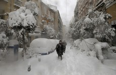 Three people dead after snowstorm causes chaos across Spain