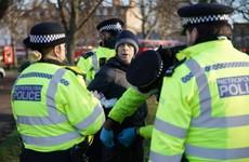 Twelve arrested at anti-lockdown protest in London