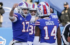 Bills hold on to claim first playoff win since '95