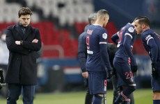 Pochettino gets first win with PSG, but Lyon stay top of Ligue 1