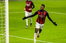 Leao and Kessie ensure Milan pull clear at Serie A summit