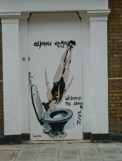 In pictures: London's graffiti artists draw inspiration from Olympic arrival