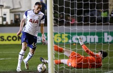 Tottenham score five to end eighth-tier Marine's FA Cup run