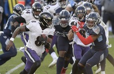 Lamar Jackson helps Ravens take revenge as Baltimore see off Tennessee