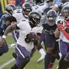 Lamar Jackson helps Ravens take revenge as Baltimore see off Tennessee