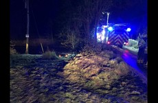 Woman rescued by gardaí after car skidded off road and into a river in Limerick