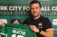 'I am just delighted to be back' - Beattie seals return to Cork City