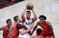 McCollum makes the difference for Blazers against Toronto