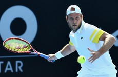 US tennis player gets news of positive Covid-19 test midway through Australian Open qualifying match