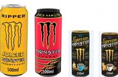 Four Monster Energy drinks being withdrawn from sale due to high levels of propylene glycol