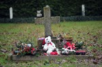 The infants graveyard at Sean Ross Abbey in Roscrea