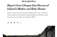 'Callousness and cruelty': International headlines about mother and baby home report