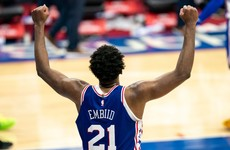 Joel Embiid leads Philadelphia 76ers to overtime win over Miami Heat