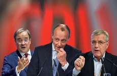 The new chancellor? These three men are fighting to replace Angela Merkel