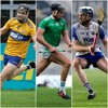 Limerick, Waterford and Clare stars in the running to land Hurler of the Year honours