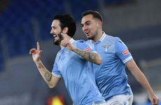 Ex-Liverpool player scores brace as Lazio cruise past city rivals Roma